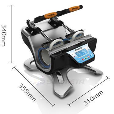 Dimensions de la presse à double tasse Freesub ST-210